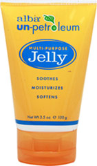 Alba Un-Petroleum Multi-Purpose Jelly <p><strong>From the Manufacturer's Label:</strong></p><p><strong>Soothes, Moisturizes, Softens</strong></p><p>Alba® Un-petroleum Jelly is the original, multi-purpose skin moisturizer made from only pure plant oils and all natural waxes. </p><p>Use daily to:</p><p>- Moisturize and soothe dry skin</p><p>- Help prevent chafing and windburn</p><p>- Gently r