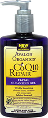 Avalon Co Q-10 Facial Cleansing Gel <p><strong>From the Manufacturer's Label:</strong></p><p><strong>Gentle Foaming Wash to Renew and Refresh</strong></p><p>For Normal to Oily Skin</p><p>This gentle cleansing gel with organic Lavender and White Tea refreshes and enlivens while Co Q-10, an essential antioxidant found in every living cell, provides the energy source for cellular renewal and smooth firm skin.</p><p>Manufa