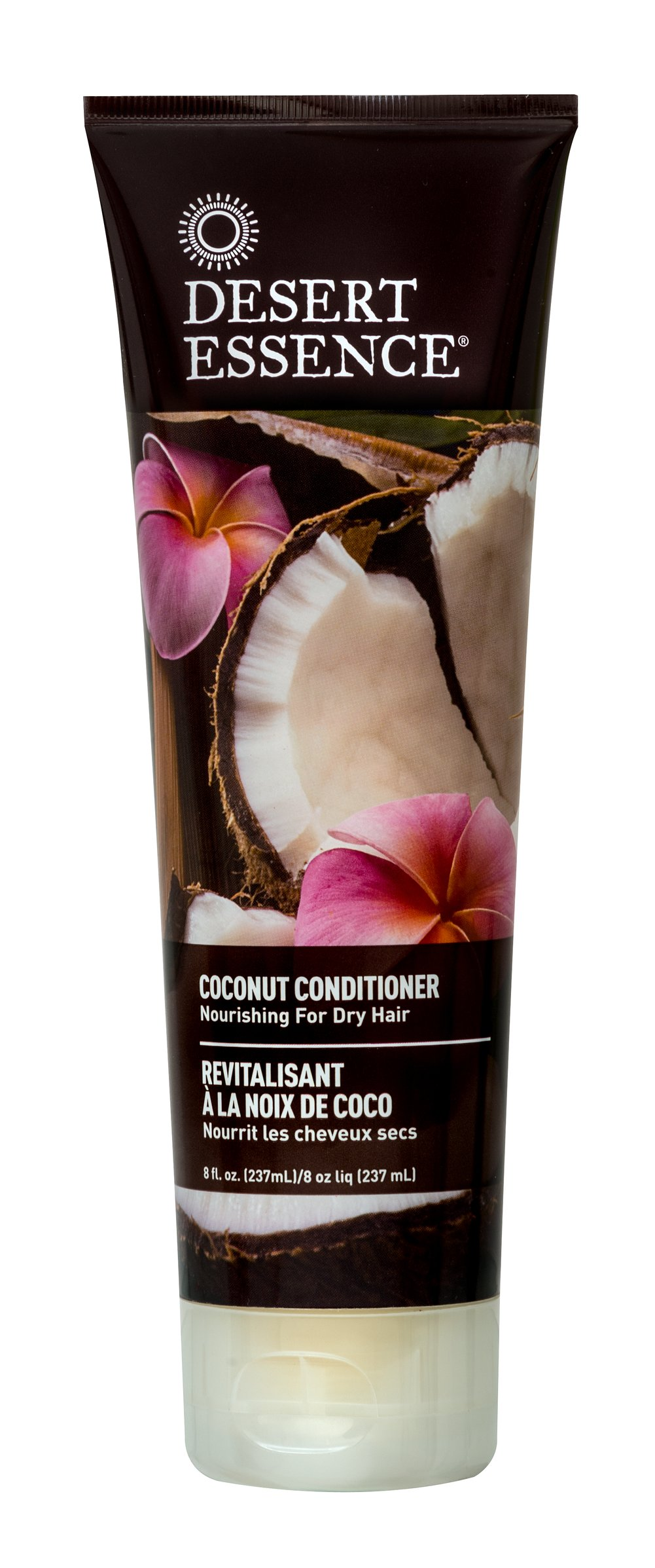 Desert Essence® Coconut Conditioner <p><strong>From the Manufacturer's Label:</strong></p><p>Nourishing for Dry Hair</p><p>Bring back shine and health to over-processed, damaged hair. Infused with organic coconut oil to provide intense moisture, smooth frizzies, and restore hair's natural luster. With continued use, hair looks revived, strong and healthy.</p><p>Manufactured by Desert Essence®.</p> 8 fl oz Conditioner  $5.8