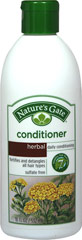 Nature's Gate Herbal Daily Cleansing Conditioner <p><strong>From the Manufactuer's Label:</strong></p><p><strong>Fortifies & Detangles </strong></p><p><strong>For All Hair Types</strong></p><p>Nature's Gate Herbal Conditioner effectively conditions hair while helping to enhance texture, shine and radiance. A unique blend of herbs and botanicals including soothing Chamomile and Lavender is combined with