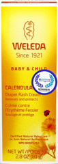 Calendula Diaper Care <p><b>From the Manufacturer's Label:</b></p>  <p><b>For Diaper Rash</b></p> <p><b>100% Certified Natural Baby Care</b></p>  <p>- Offers quick and effective relief for diaper rash</p> <p>- Minor skin irritations</p> <p>- Soothes, protects against moisture</p>  <p>Active Ingredient: Zinc Oxide 12%</p><p>Manufactured by  Weleda.</p> 2.8 oz Cream