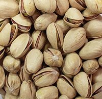 "Organic Roasted Salted Pistachios <p>The Organic version of our top selling pistachio. Popular snack and perfect to take on the go for a wholesome treat!<br /></p><strong><span style=""text-decoration:underline;""></span></strong> 8 oz Container  $11.99"