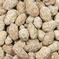 Cinnamon Spiced Almonds These Cinnamon Spiced Almonds add extraordinary flavor to almonds for a sweet and spicy delicious taste!  8 oz Bag  $10.99