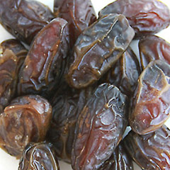 Medjool Dates Tender, soft and delicious these dates are great for snacking on by themselves or as part of a nut, fruit and cheese plate.  14 oz Container  $11.69