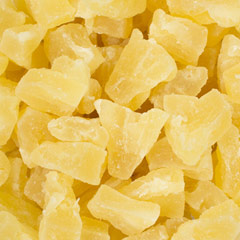Dried Pineapple  10 oz Container  $6.29
