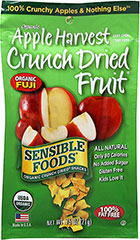 Organic Apple Harvest Crunch Dried Fruit Snack <p><strong>From the Manufacturer:</strong></p><p>Crunchy, sweet, and delicious. </p><p>100% Crunchy Apples and Nothing Else. </p> 0.75 oz Bag