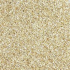 Organic Quinoa <p>Quinoa is a grain-like seed that can be used as an alternative to wheat or other grains to make flour. A nutritious addition to your meals, add Organic Quinoa to vegetables, meats, soups and cereals to create a medley of delicious dishes.</p> 12 oz Container  $9.99