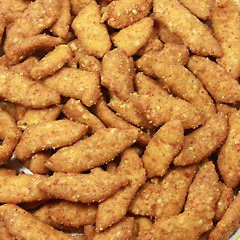 Sesame Sticks Hot & Spicy <p>Hot and spicy, with zest and zing, these sesame sticks are a favorite of those who love crunchy and spicy snacks. Great to eat alone or with other sesame sticks or nuts for a tasty snack mix.  8 oz Bag  $4.99