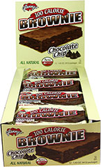 100 Calorie Chocolate Chip Brownies <p><strong>From the Manufacturer:</strong></p><p>100 Calories never tasted so good!</p><p>The great taste of a chocolate brownie with chocolate chips as a bonus!</p><p>The surprise is that they have 7 grams of fiber and 4 grams of protein in each brownie.<br /></p> 12 per Box  $16.99
