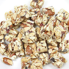Crunchy Clusters Nut Berry Crunchy Nut & Berry Clusters are made with cashews, walnuts, almonds, raspberries, goji berries and more! Natural snack made with real fruit! 9 oz Bag  $12.99