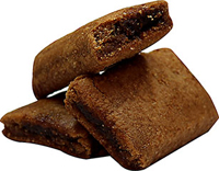 Whole Wheat Fig Bars Smooth and delicious fig filling in a yummy delicious whole wheat fig bar. 8 oz Bag  $6.99