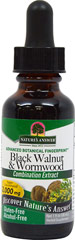 Black Walnut & Wormwood Liquid Extract AF <p><strong>From the Manufacturer's Label:</strong></p><p>Hawthorn Black Walnut & Wormwood Alcohol Free is manufactured by Nature's Way.</p> 1 oz Liquid  $8.99