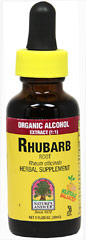 Rhubarb Root Liquid Extract <p><b> From the Manufacturer's Label: </b></p> <p>Rhubarb Root Liquid Extract is manufactured by Nature's Answer.</p> 1 oz Liquid  $6.99