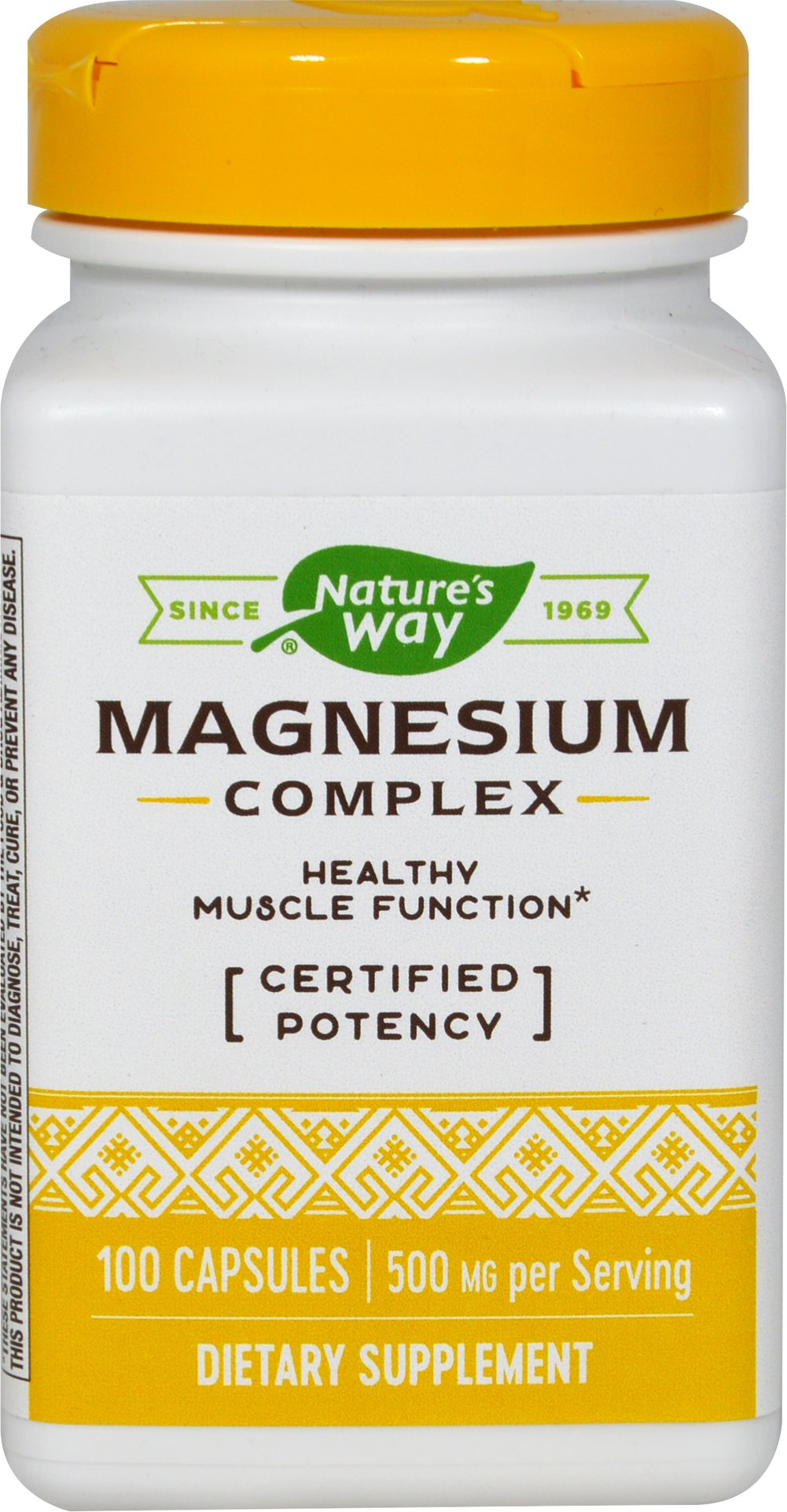 Magnesium Complex <p><strong>From the Manufacturer's Label:</strong></p><p>Magnesium Complex is manufactured by Nature's Way.</p> 100 Capsules 250 mg $4.99