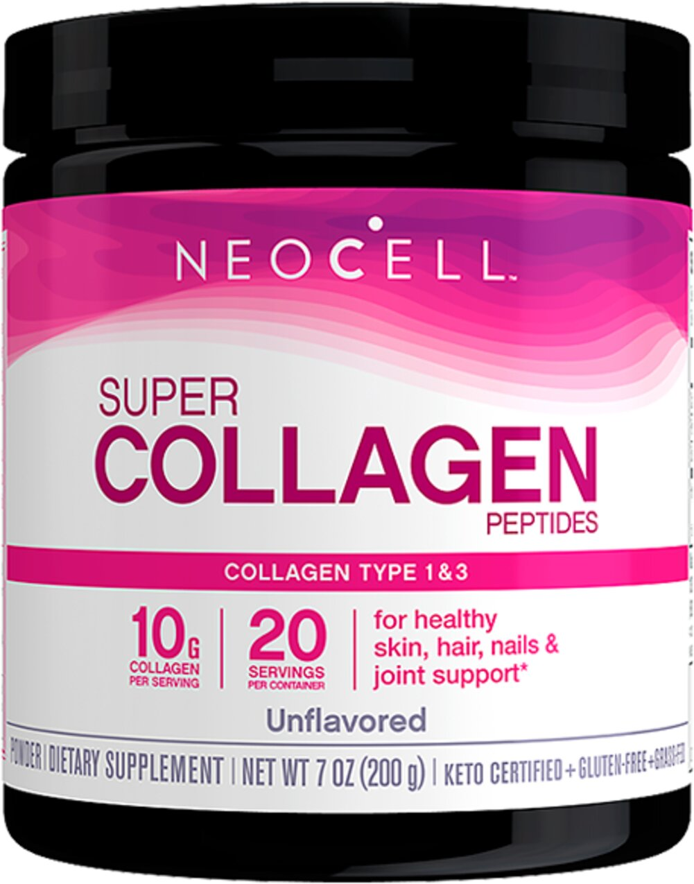 Collagen Type 1 & 3 Powder <p><b>From the Manufacturer's Label: </p></b><p>Pure & Natural</p>  <p>Collagen (collagen hydrolysate) is a complex structural protein that maintains strength and flexibility of skin, ligaments, bones, joints, muscles, tendons, gums, teeth, eyes, blood vessels, nails and hair. Collagen Type I & III is 100% pure collagen protein that provides building materials for growth and maintenance of a healthy body. When C