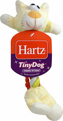 Tiny Dog Heads and Tails Toy <strong></strong><p><strong>From the Manufacturer:</strong></p><p>Tug, chew or fetch. These tiny toys are made of soft, plush, durable rope perfect for solo play or interactive games of tug of war. The lightweight, flexible design was created specifically for the needs of smaller dogs.</p><p>Make sure to supervise your pet.  For chew and play only.  Not a child's toy.</p> 1 Each  $2.79