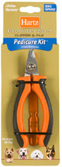 Groomers Best Pedicure Kit <b><p>From the Manufacturer:</b></p><p>For at home maintenance of all breeds. The ergonomic handle and unique angle of this clipper make it easy to keep dogs' nails trimmed to a healthy and comfortable length. Use the file to remove sharp edges and leave nails even and smooth.</p> 1 Each  $6.11
