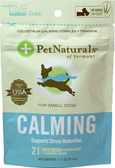 Calming Chews for Small Dogs  21 Chews  $7.99