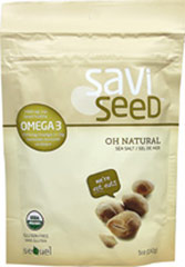 Savi Seed Oh Natural Sacha Inchi Seed Snack <b><p>From the Manufacturer:</b></p><b><p>A new favorite in natural food stores everywhere!</b></p>   <p>Sacha Inchi seeds—the richest plant based source of Omega-3 on the planet. </p>  <p>Sacha Inchi seeds come from star shaped pods and native to the Amazon rain forest. These premium Saviseeds are sustainable grown and proudly producted in partnership with farmers from Peru. </p>