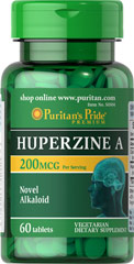 "Huperzine A 200 mcg <ul><li><span style=""font-family:'Arial','sans-serif';color:black;"">Get the </span><span style=""font-family:'Arial','sans-serif';"">novel <span style=""color:black;"">support of Huperzine A.**</span></span></li><li><span style=""font-family:'Arial','sans-serif';color:black;"">A beneficial alkaloid extract.</span><span st"