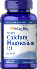 "Albion Chelated Calcium Magnesium <table border=""0"" cellpadding=""0"" cellspacing=""0"" width=""517""><colgroup><col width=""517"" /></colgroup><tbody><tr height=""32""><td height=""32"" style=""height:24.0pt;width:388pt;"" width=""517""><p>We are proud to bring you Albion Chelated Calcium Magnesium.   Look to Puritan's Pride for high quality products an"