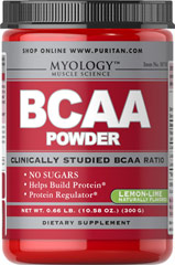 BCAA Powder 5000 mg Lemon Lime <p><b>From the Manufacturer's Label: </p></b><p>BCAAs may be the most important aminos for athletes and bodybuilders as they are directly involved in protein synthesis at the genetic level.** BCAAs can also be broken down and used as an energy source to fuel exercise as needed.** BCAA Powder supplies a precise, clinically studied ratio of Leucine, Valine and Isoleucine (45/30/25).</p> <p>BCAA Powder can be taken after t