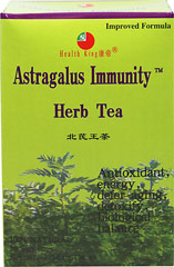 Astragalus Immunity Herb Tea <p><strong>From the Manufacturer's Label:</strong></p><p>Flavored with jasmine flower, this herb tea is made of wild astragalus along with other precious herbs. Enjoy this delicious tea any time of day!<br /></p> 20 Tea Bags  $12.99