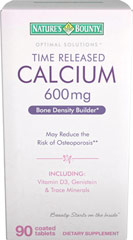 Calcium with Vitamin D & Genistein <p>Time Released Calcium & Vitamin D3 with Genistein is a comprehensive formula specifically designed to help strengthen and nourish your bones.** Calcium, Vitamin D, Magnesium and Genistein work synergistically to help maintain overall bone health.**</p><p>• May reduce the risk of osteoporosis**</p><p>• Calcium plays a vital role in bone mass**</p><p>• Vitamin D and Magnesium are necessary for bone minerali