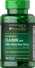 "Myoleptin™ CLA 1000 with White Kidney Bean <ul><li><span style=""font-family:'Arial','sans-serif';color:#141414;"">Myoleptin™ CLA is a form of Conjugated Linoleic Acid produced from safflower oil</span><span style=""font-family:'Arial','sans-serif';"">.</span></li><li><span style=""font-family:'Arial','sans-serif';"">Our body shaping and toning formula s</span><s"