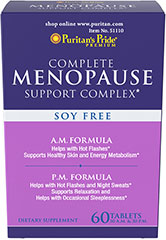 Menopause Support Complex  60 Tablets  $12.99