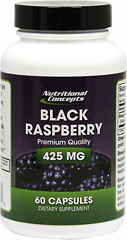 Black Raspberry 425 mg  60 Capsules 425 mg
