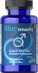 Blue Tenacity Sometimes you may need a little supplemental assistance to get the most out of your body. Blue Tenacity is a potent combination of pure L-Arginine and Ginkgo Biloba Extract – designed to promote blood flow for maximum benefit.* Arginine is a precursor to nitric oxide, which is important for circulation throughout the body.* Ginkgo has a long history of traditional use and is popular throughout the world for its beneficial properties, which include blood flow and circulation.*  60 C