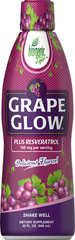 Grape Glow™ Resveratrol Liquid <p>Delicious Flavor!</p> <p>Biorganic Life™ Grape Glow™ Liquid combines the benefits of Grape and Polygonum Cuspidatum root extracts to help support your overall health and vitality.**</p> <p>Biorganic Life™ Grape Glow™ Liquid contains 100 mg of trans-Resveratrol, which possesses beneficial antioxidant properties and nutritionally supports antioxidant health.**</p> 32 fl oz Liquid  $29.89