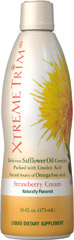 Xtreme Trim® Safflower Oil Complex Liquid <p>Xtreme Trim® Safflower Oil Complex is a concentrated energy source that can be used any time of day including before exercise or before meals.  Safflower is in the same family as Sunflowers, and is a natural source of Linoleic acid - an omega-6 fatty acid that is essential in the diet.  This product should be used to replace other fats in the diet such as butter and foods containing trans fat.</p><p>Naturally Flavored</p