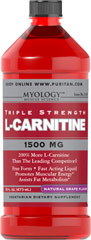 L-Carnitine 1500 mg Grape <p>Our Triple Strength liquid formula is fast acting, comes in delicious natural lemon, watermelon, or grape flavor.</p><p>Promotes muscular energy and is important for heart health.**</p><p>Contributes to energy production.**</p><p>Provides support for fat metabolism.**</p><p>An easy dose of just one tablespoon a day.</p><p>A perfect choice for vegetarian lifestyles.</p> 16 oz Liquid 1500 mg $15.29