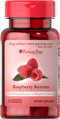 Raspberry Ketones 100 mg <p><span></span>Concentrated source of Raspberry Ketones.</p><p><span></span>100mg in one serving.</p><p><span></span>Rapid release capsules.</p><p><span></span>Trial size. </p><p>Our Raspberry Ketones are highly concentrated.  Each serving of this dietary supplement contains 100mg of raspberry ketones. Trial size includes 30 rapid release capsules.</p> 30 Rapid Re