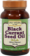 Black Currant Seed Oil 300 mg  60 Softgels 300 mg $10.47