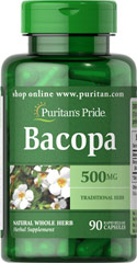 "Bacopa 500 mg <ul><li>Bacopa is an ancient Ayurvedic herb that has a long history of traditional usage. </li><li>Native to India and tropical regions. </li><li>Supports brain function**</li><li>Rapid release capsules.</li></ul><p style=""margin-bottom:13.0pt;line-height:17.0pt;""><span style=""font-family:'Arial','sans-serif';"">Bacopa has been part of the Indian health routine for a"