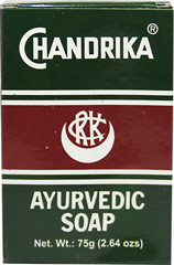 Chandrika® Ayurvedic Bar Soap <p><b>From the Manufacturer's Label: </b></p> <p>Ayurvedic Soap</p> <p>Made in India.</p> <p> Export quality prepared from genuine herbal extracts and high quality vegetable oils.</p>   <p>Manufactured by S.V. Products.</p> 2.64 oz Bar  $0.99