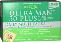 Ultra Man™ 50 Plus  Daily Multi-Packs  30 Packets  $39.99