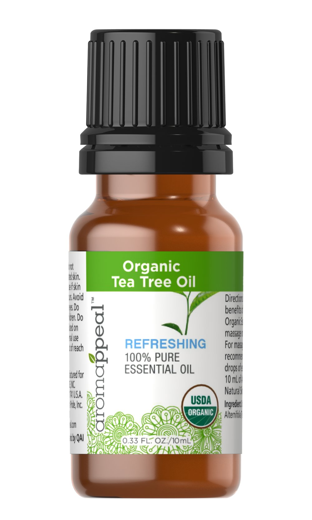 Organic Tea Tree Oil  10 ml Oil  $11.89