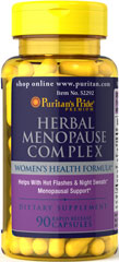 Herbal Menopause Complex <p>Women's Health Formula**</p><p>Helps with hot flashes & night sweats**</p><p>Menopausal support**</p>  90 Capsules  $18.99