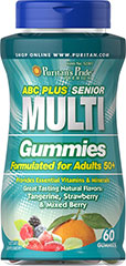 "Senior Gummies <table border=""0"" cellpadding=""0"" cellspacing=""0"" width=""511""><colgroup><col width=""511"" /></colgroup><tbody><tr height=""30""><td class=""xl71"" height=""30"" style=""height:22.5pt;width:383pt;"" width=""511""><p>Formulated  for adults 50+</p><p>Provides essential vitamins and   minerals</p><p>Great tasting natural flavo"
