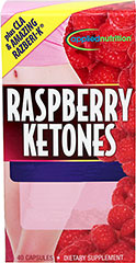 Raspbery Ketone WOW™ Razberi-K® plus CLA <p>From the Manufacturer's Label:</p><p>Raspberry Ketone WOW™ is unlike any product you have tried before.  In addition to supplying 300mg of pure raspberry ketones, this breakthrough product includes a highly concentrated form of green tea extract.  Raspberry ketones, also known as 4-(4-hydroxyphenyl) butan-2,one, are special compounds that give raspberries their unique aroma.<br /><br />Manufactur