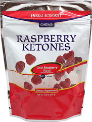 Chewable Raspberry Ketones <ul><li>Great Raspberry Favor! </li><li>60 Chews</li></ul> 60 Chews  $19.99