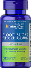 Blood Sugar Support Formula  60 Caplets  $16.99