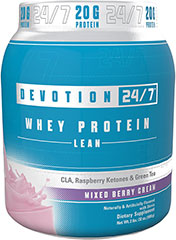 Lean Whey Protein Mixed Berry with CLA, Raspberry Ketones, & Green Tea Naturally & Artificially Flavored with Stevia<br /><br />Whey Protein Lean goes way beyond conventional protein products by providing top-notch ingredients including Tonalin® CLA, Raspberry Ketones, Green Tea Extract, Flaxseed and more. This synergistic blend provides a host of benefits so you can keep working towards your diet and fitness goals. 2 lbs Powder  $64.99