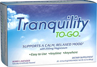 Tranquility To-Go™  20 Packets  $11.99