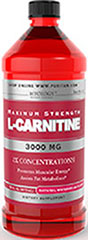Maximum Strength L-Carnitine 3000 mg Liquid  16 Liquid 3000 mg $29.99