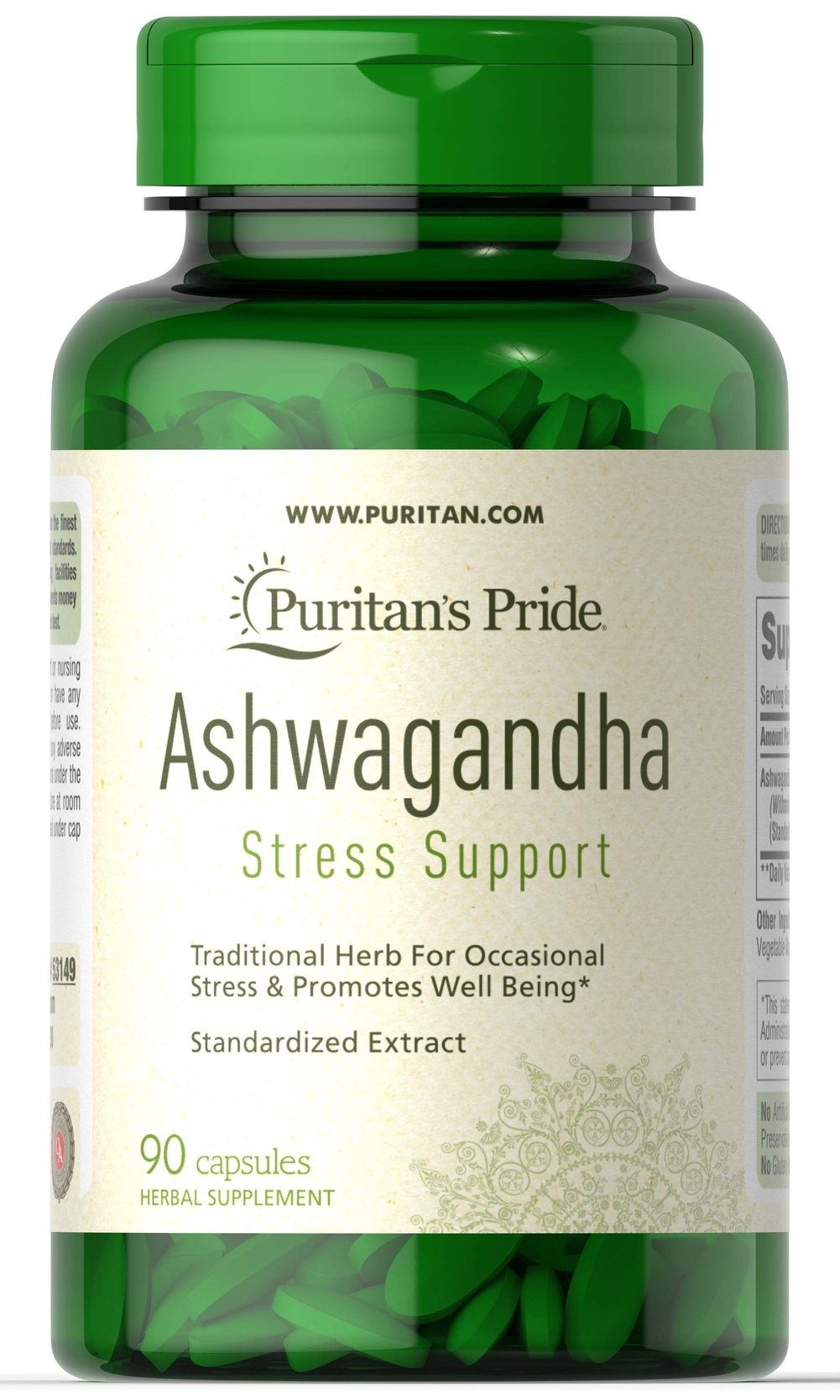 Ashwagandha Root Extract 750mg Ayurvedic Inspired  90 Vegi Caps 750 mg $22.39